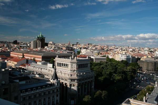 Panoramica de Madrid al Norte.