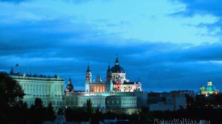 Catedral de la Almudena y El Palacio Real