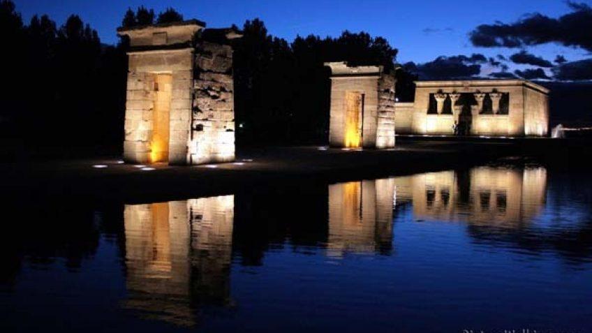 Templo de Debod en Madrid
