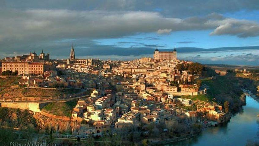 Toma de Toledo desde el Parador.
