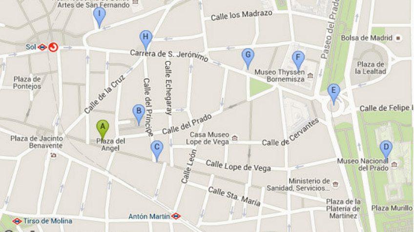Ruta de Paseo 5 Madrid