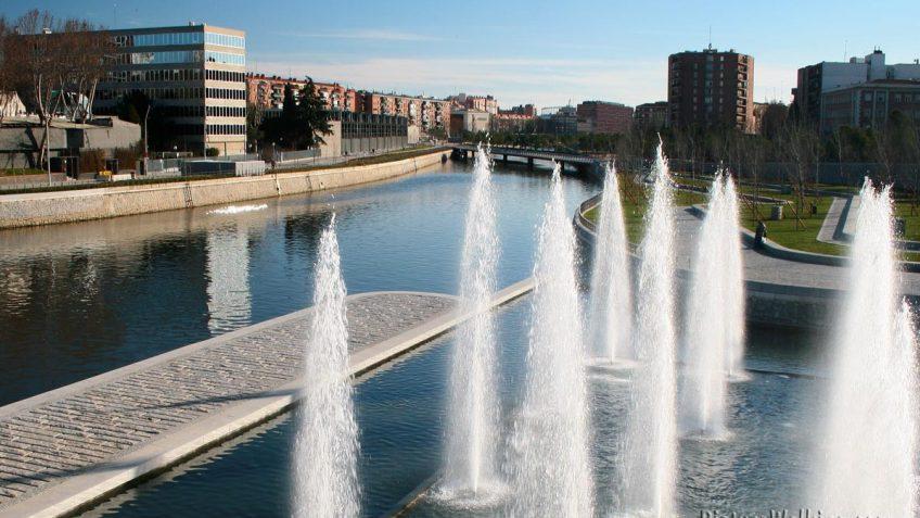 Río Manzanares desde el Puente de Segovia