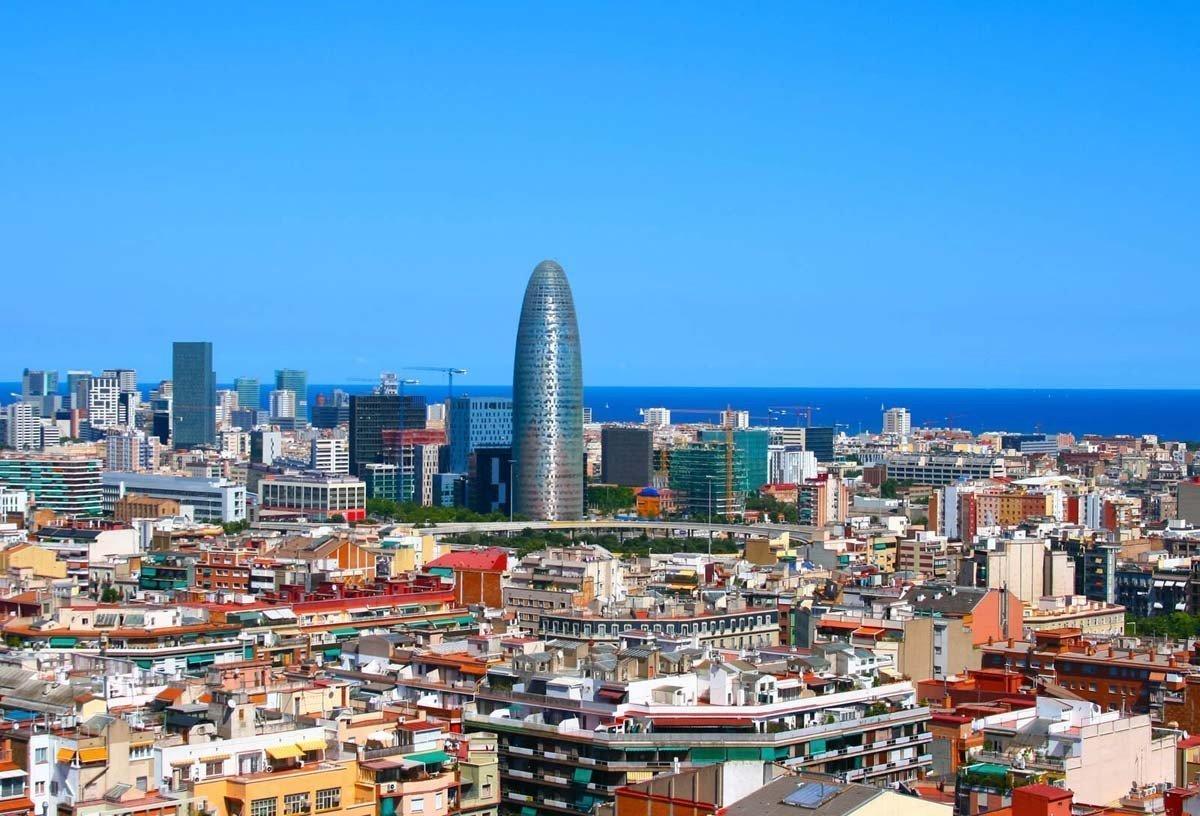Barcelona Vista Aérea