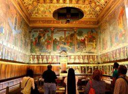 Murales en la Catedral de Toledo