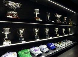 "Sala ""Mejor Club de la Historia"" del Bernabéu"