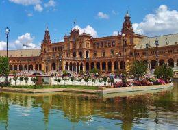 Plaza España de Sevilla