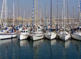 Puerto Deportivo en Barcelona