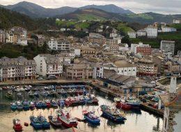 Pueblo pesquero en Galicia
