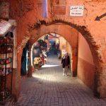 Arcos en el Zoco de Marrakech