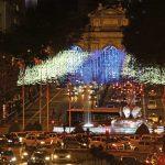 La Cibeles y la Puerta de Alcalá en Navidad 2016