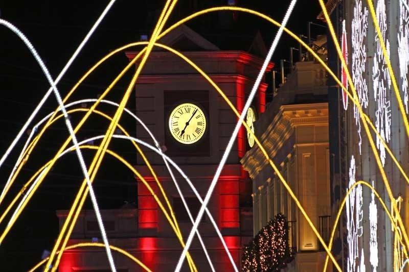 Reloj de la Puerta del Sol Navidad 2016